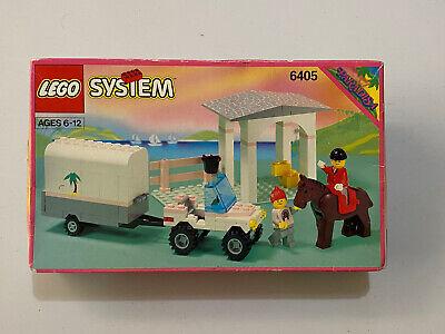 "Vintage Lego SYSTEM 6405 ""Sunset Stables"" Paradisa BOXED DENMARK 1992 - Rare"