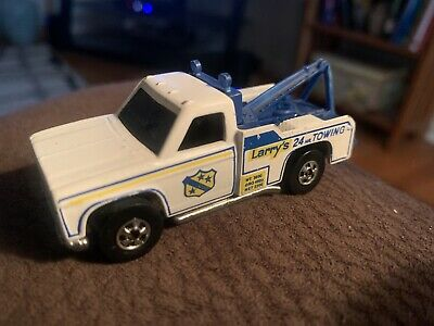 HOT WHEELS Ramblin' Wrecker Larry's Towing Truck 1974 Hong Kong Flying Colors