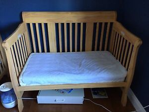 Storkcraft Tuscany 4-in1 convertible crib - natural finish - x2!