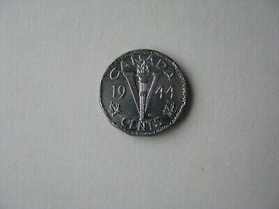 5 cents 1944-Canada-George VI-TTB+