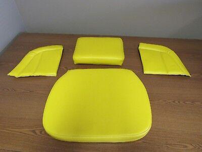 John Deere 1010 420 435 440 Tractor 4pc Yellow Deluxe Seat Set  S116