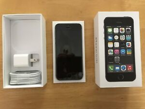 iPhone 5s 64 GB with cases and extra charge cables