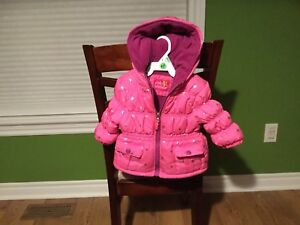 Size 12 month toddler winter coat- never worn