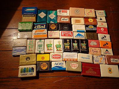 Vintage Hotel Bar Soaps 53 All Different