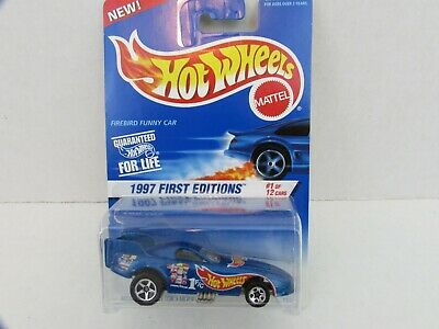Vintage Hot Wheels 1997 First Editions Firebird Funny Car #1 of 12 NIP # 509