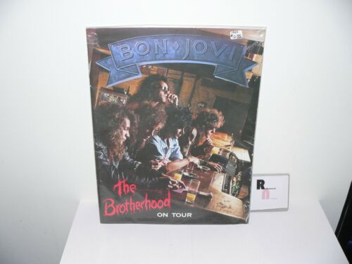 Bon Jovi The Brotherhood On Tour Programme Book Vintage Good Condition