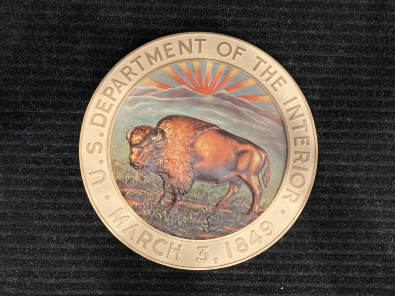 National Park Service Office Administrative Staff Sign, 50th Anniv. New & Rare!