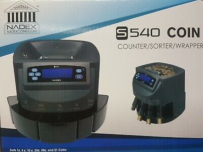 Nadex S540 Coin Counter Sorter Wrapper