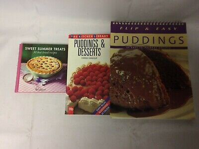 x3 Books Puddings - Sweet Summer Treats - Desserts - Easy To Prepare Recipes