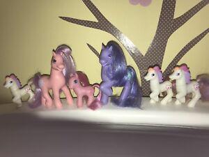 G2 vintage My Little Ponies