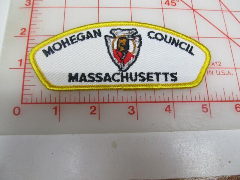 Mohregan Council CSP collectible patch (o34)