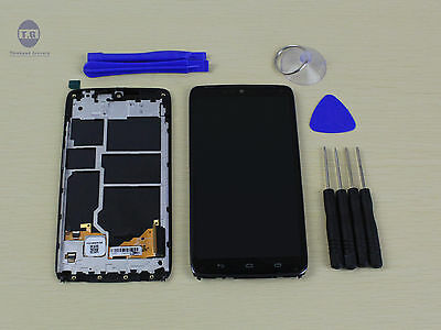 Motorola Droid Turbo XT1254 XT1225 LCD Demonstration + Touch screen + Frame assembly