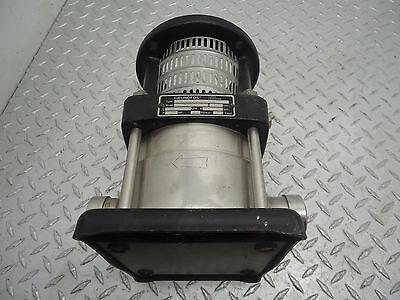 Grundfos Pump Crn4-20 U-p-g-bube Model C 9408 3450 Rpm .75 Hp