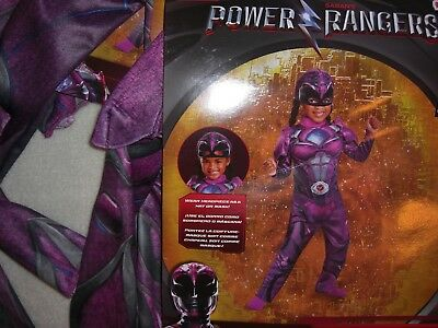 NEW SABAN'S POWER RANGERS  PINK RANGER COSTUME SIZE S 2T OR 3T TODDLER DRESSUP](Pink Power Ranger Costume Toddler)