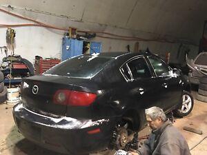 2006-2009 Mazda 3 gt x parts