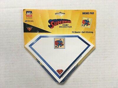 Vintage Superman Post It Note Memo Pad