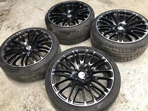 """Infiniti mags 20"""" with tires"""