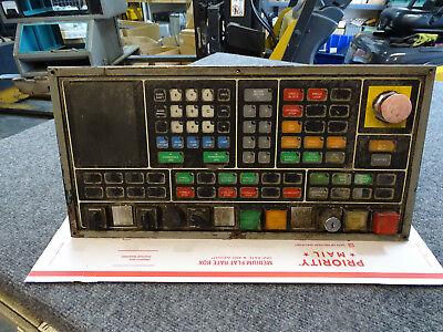 Cincinnati Milacron Acramatic 950 Control Operator Panel 3-525-0969a W Cables