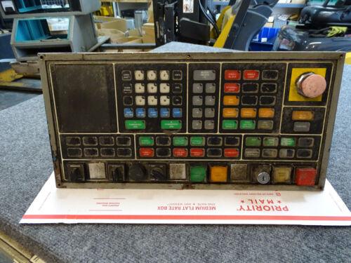 Cincinnati Milacron Acramatic 950 Control Operator Panel w/ Cables 3-525-0969A