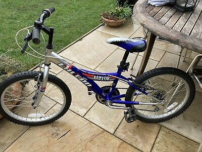 "Childs bicycle Kids Mountain bike Falcon Raptor, 20 "" wheels,11"" frame"