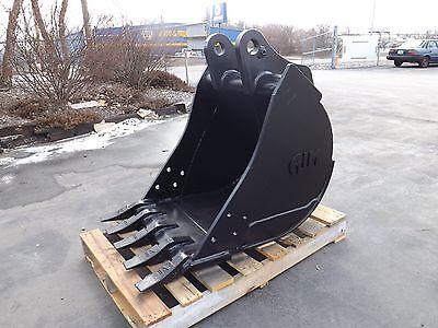 New 24 Backhoe Bucket For A John Deere 410k