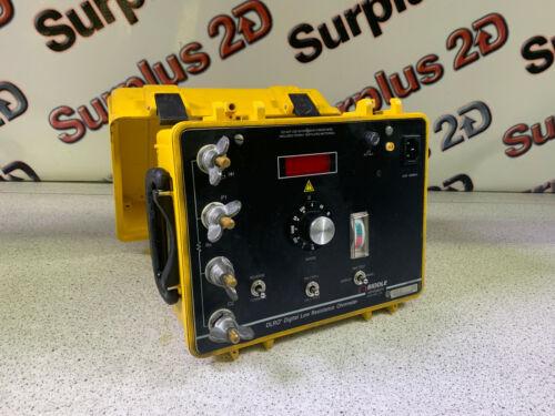 Biddle DLRO Digital Low Resistance Ohmmeter Catalog 247001