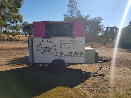 Mobile Dog Grooming Trailer