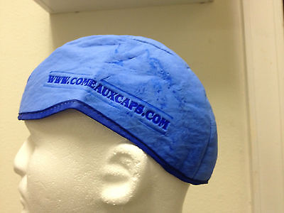 Cooling Skull Caps Comeaux Hats Beanie Cools 15-20 Degrees In Minutes Size Lxl