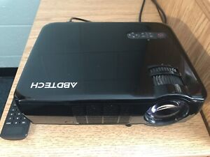 Abdtech LCD Portable home projector