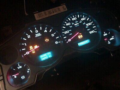 07-11 Silverado Yukon Sierra Tahoe Instrument Speedometer Cluster Gauge OEM GM