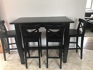 Bar table and stools Corrimal Wollongong Area Preview