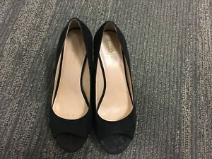 Cole Haan black wedge in size 6