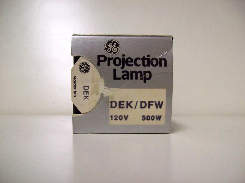 DEK/DFW Projector Projection Lamp Bulb GE  AVG 25-HR LAMP