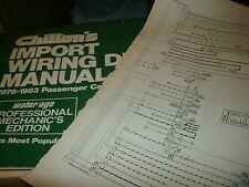 1978 1979 VOLKSWAGEN VW RABBIT WIRING DIAGRAMS SCHEMATICS ...