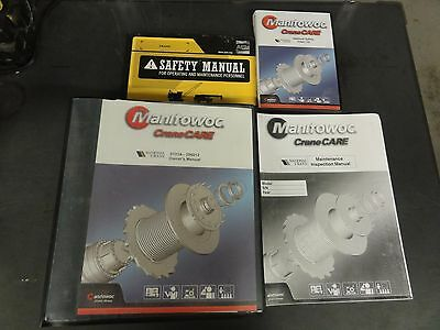 Manitowoc National Crane 9103a-295012 Owners Manual Plus Additional Manuals