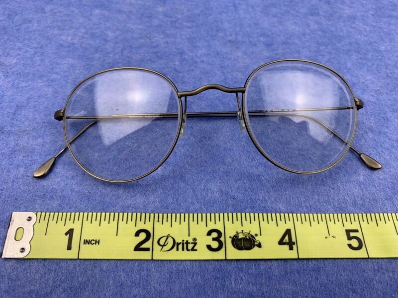 Vintage Red Rose Eyeglasses Rare Made In Italy Mint