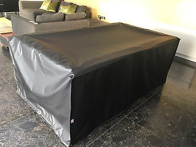 7ft Pool Table Cover,FULL DROP, Outdoor, Weather Proof, Heavy Duty Cover,UK MADE