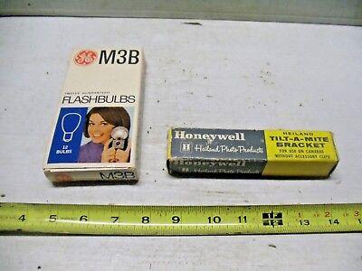 Flash Brackets Old Vintage Honeywell Heiland