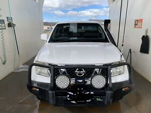 2009 Nissan Navara St (4x4) 5 Sp Automatic Dual Cab P/up
