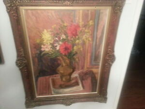 Valentin Hoeflich - Listed Romanian Artist Oil Painting