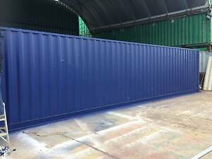 40ft Standard Height Fully Painted A-Grades Brisbane Hemmant Brisbane South East Preview