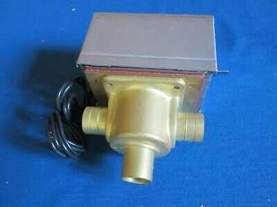 Honeywell V4044a 1019 12 Sweat 3 Way Zone Diverting Valve