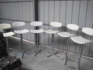 6 leather bar stools Port Lincoln Port Lincoln Area Preview