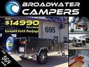 New! Forward Folding Off road Camper Trailer Hard Floor Arundel Gold Coast City Preview