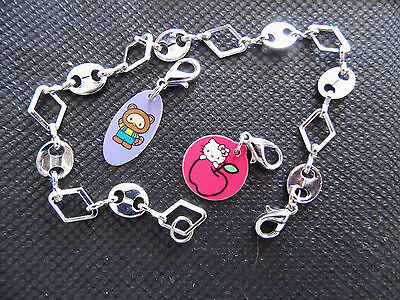 Topps - Hello Kitty Fashion Bracelet / Bettelarmband 36 Tütten / Booster Neu