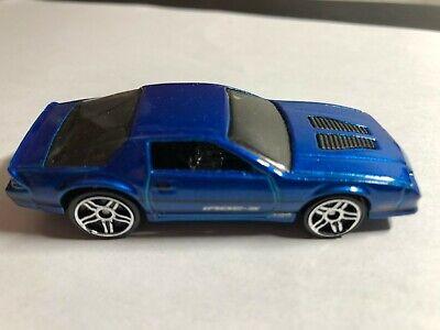 2014 Hot Wheels 9 PACK EXCLUSIVE '85 Chevrolet Camaro IROC-Z Blue  Free Ship
