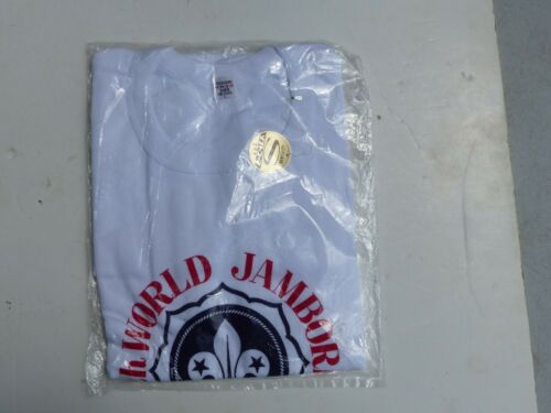 "Unused 1971 World Scout Jamboree Nippon T-Shirt in Original Package Size ""L"""