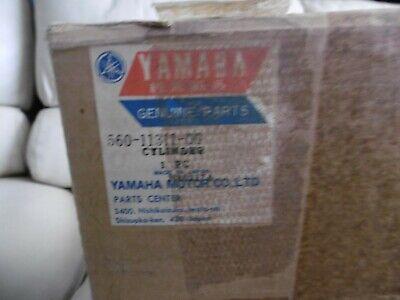 <em>YAMAHA</em> GENUINE NOS CYLINDER BARREL 560 11311 00 DT125 1970S