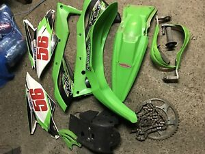 Kawasaki kx250f used parts