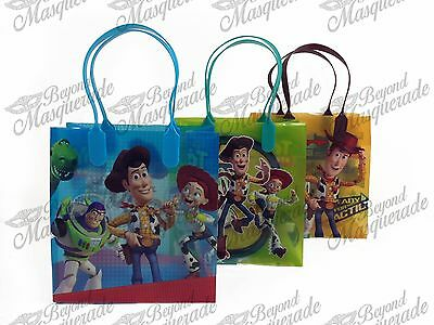 Disney Toy Story Party Favor Supplies Goody Loot Gift Bags [12ct]